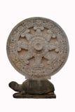 Thammachaken som snidas från stenen Fotografering för Bildbyråer