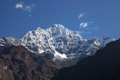 Thamserku peak (6,608m) Nepal Royalty Free Stock Images