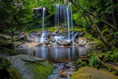 Thamsor nuo Waterfall Phukradueng National Park Royalty Free Stock Photography