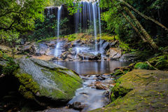 Thamsor nuo Waterfall Phukradueng National Park Royalty Free Stock Photos