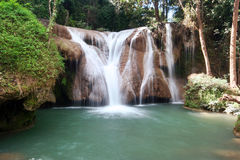 Than Sawan waterfall Stock Images