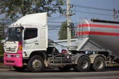 Thanachai公司水泥卡车  库存图片