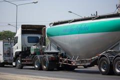 Thanachai公司水泥卡车  免版税库存照片