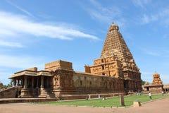 Thanajvur tempel Royaltyfria Foton