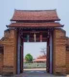 Thanang Gate. Stock Photos