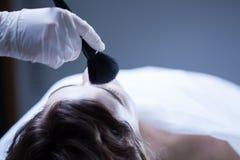 Thanato-cosmetics Royalty Free Stock Image