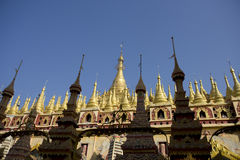 Thanboddhay Pagoda, Monywa, Myanmar Stock Image