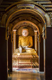 Thanboddhay Pagoda. One of the 580000 famous Buddhas at Thanboddhay Pagoda, Monywa, Sagaing Region, Myanmar, Southeast Asia stock photo