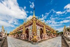 Thanboddhay Phaya Monywa缅甸 免版税库存图片