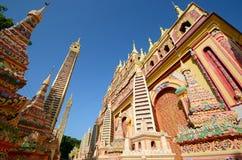 Thanboddhay temple Royalty Free Stock Photos