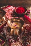 Thandai eller Sardai, indisk drink för den Holi festivalen arkivfoto