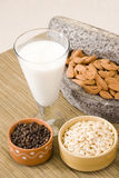 Thandai o leche fría de la almendra fotos de archivo
