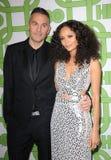 Thandie Newton et Ol Parker image libre de droits