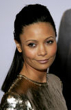 Thandie Newton. HOLLYWOOD, CALIFORNIA. Thursday December 7, 2006. Thandie Newton attends the Los Angeles Premiere of The Pursuit of Happyness held at the Mann Royalty Free Stock Photography