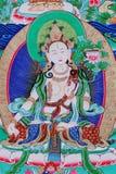 thangka de Bouddha Images libres de droits