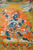 Thangka-Show Stockbild
