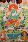 Thangka  show Stock Image