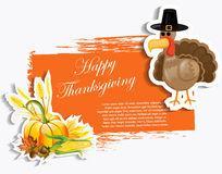 Thangsgiving grunge background Stock Image