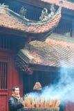 Thanh Giong świątynia Obrazy Stock