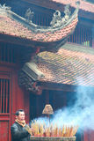 Thanh Giong Temple Images stock
