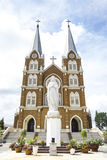 Thanh Mau Church in the morning. In Bao Loc, Viet Nam Royalty Free Stock Photo