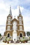 Thanh Mau Church por la mañana Foto de archivo libre de regalías