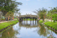 Thanh Toan Bridge Hue Royalty Free Stock Image