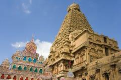 thanjavur виска Индии brihadishvara Стоковые Изображения RF