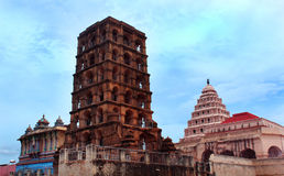 Thanjavur maratha pałac kompleks zdjęcia royalty free