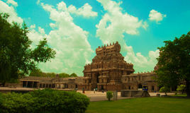 Thanjavur temple. Thanjavur, formerly Tanjore,[1] is a city in the south Indian state of Tamil Nadu. Thanjavur is an important center of South Indian religion Stock Photography