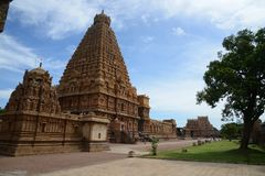 Thanjavur Very beautiful temple Royalty Free Stock Image