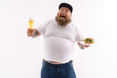 Thank God for this wonderful food Royalty Free Stock Photos