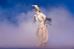 """Thank humbly-The fifth act Steal immortal-Kunqu Opera""""Madame White Snake"""" Royalty Free Stock Image"""