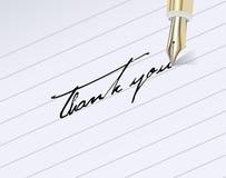 Thank You! Stock Photo