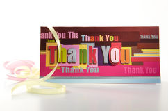 Thank You Stock Image