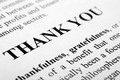 Free Thank You Stock Images - 22103794