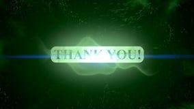 Thank you animation intro outro. Motion graphics - Thank you animation intro outro stock footage