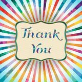 Thank you! vector illustration