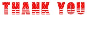 Thank You Banner Design 01. Colorful Background - High Resolution stock illustration
