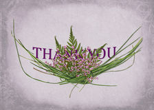 Thank you bouquet Royalty Free Stock Image