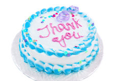 Thank you cake Royalty Free Stock Photography