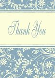 Thank you. Card,  background, Thanks, appreciation Royalty Free Stock Photo