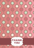 Thank You Card Design Royalty Free Stock Photo