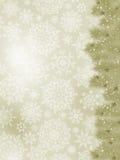 Thank you card on a elegant christmas card. EPS 8. Vector file included Stock Photos