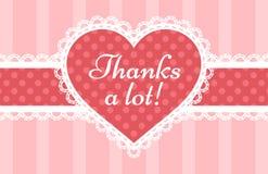 Thank You card Stock Photo