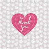 Thank you card Stock Photos