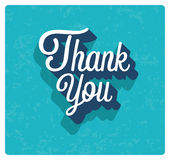 Thank you card. Royalty Free Stock Photo