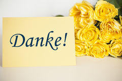 Thank-you card Stock Images