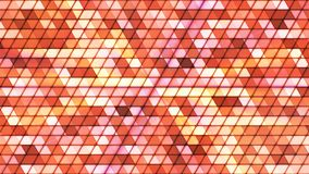 Broadcast Twinkling Cubic Hi-Tech Triangles, Orange, Abstract, Loopable, 4K. Thank you for choosing this Background stock footage