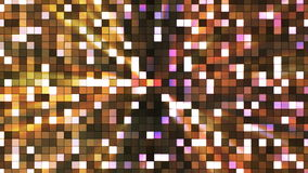 Broadcast Twinkling Hi-Tech Squares, Brown, Abstract, Loopable, 4K